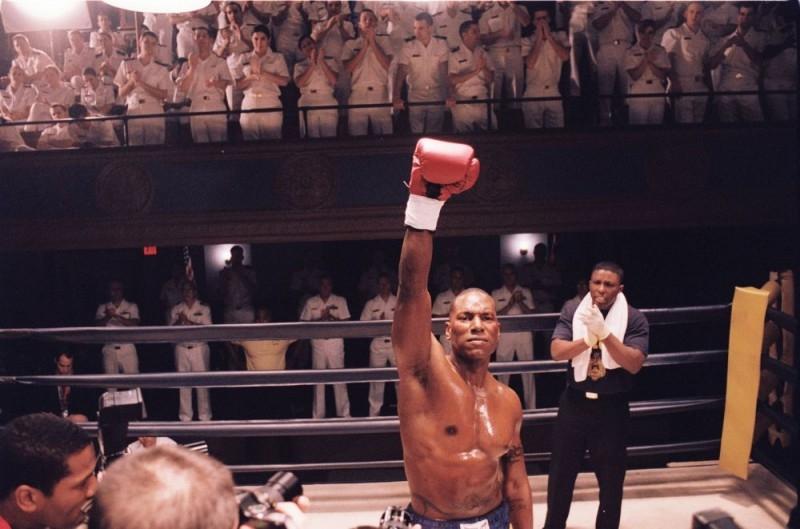 Tyrese Gibson in una scena del film Annapolis
