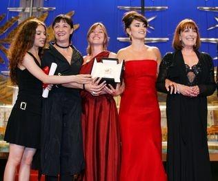 Il premio al cast di Volver