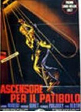 La copertina DVD di Ascensore per il patibolo