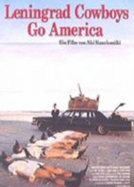La copertina DVD di Leningrad cowboys go America