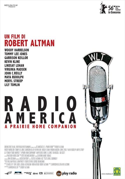 La locandina italiana di Radio America