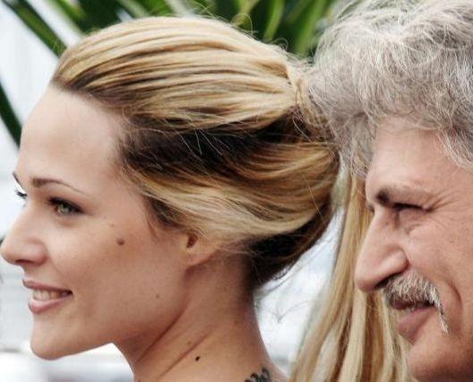 Laura Chiatti e Fabrizio Bentivoglio sulla Croisette