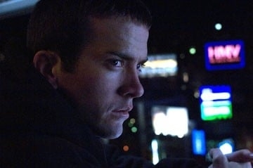 Lucas Black in una scena del film The Fast and the Furious 3