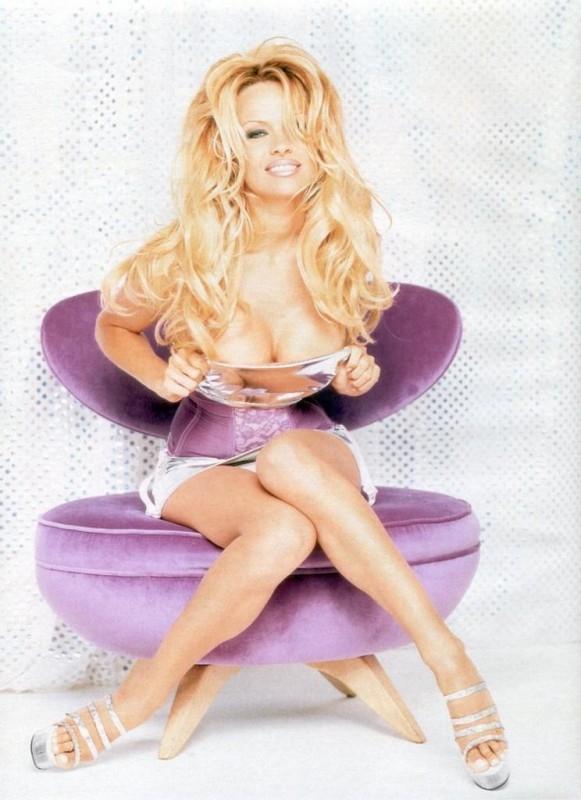 una foto di Pamela Anderson