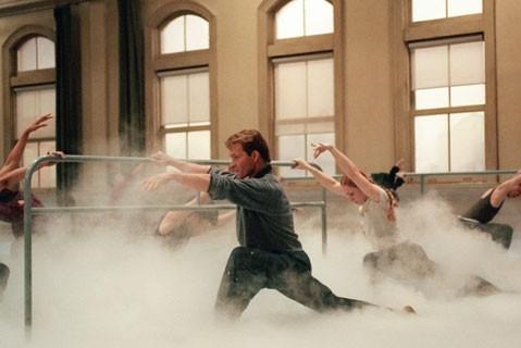 Patrick Swayze in una scena del film One Last Dance