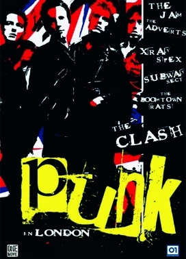 La copertina DVD di Punk in London