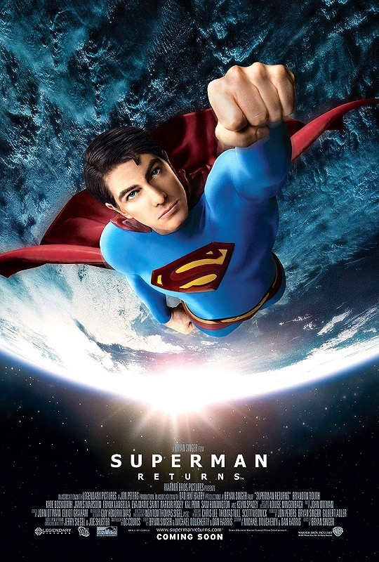 Il poster di Superman Returns