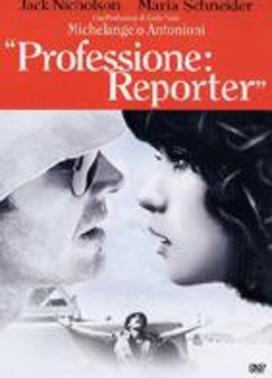 La copertina DVD di Professione: reporter