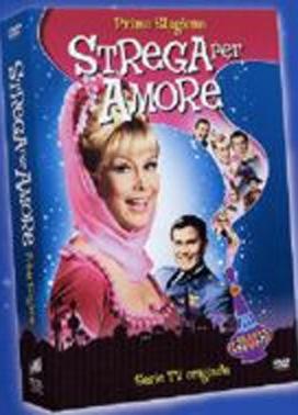 La copertina DVD di Strega per amore - Stagione 1