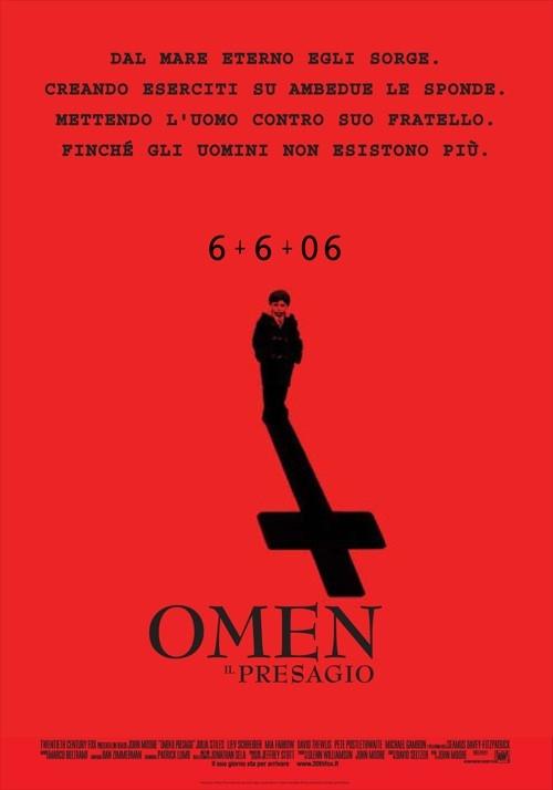 La locandina italiana di Omen - Il Presagio