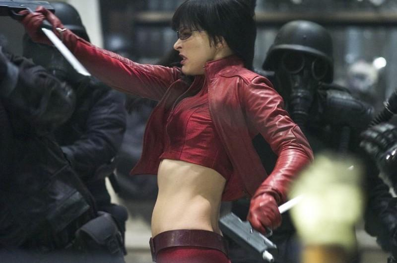 Milla Jovovich nei panni dell'eroina di Ultraviolet