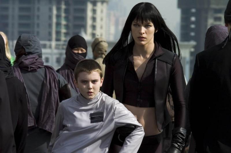 Milla Jovovich in una immagine del film Ultraviolet