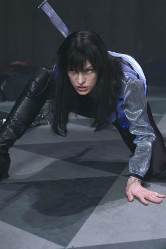 Milla Jovovich è la star di Ultraviolet, di Kurt Wimmer