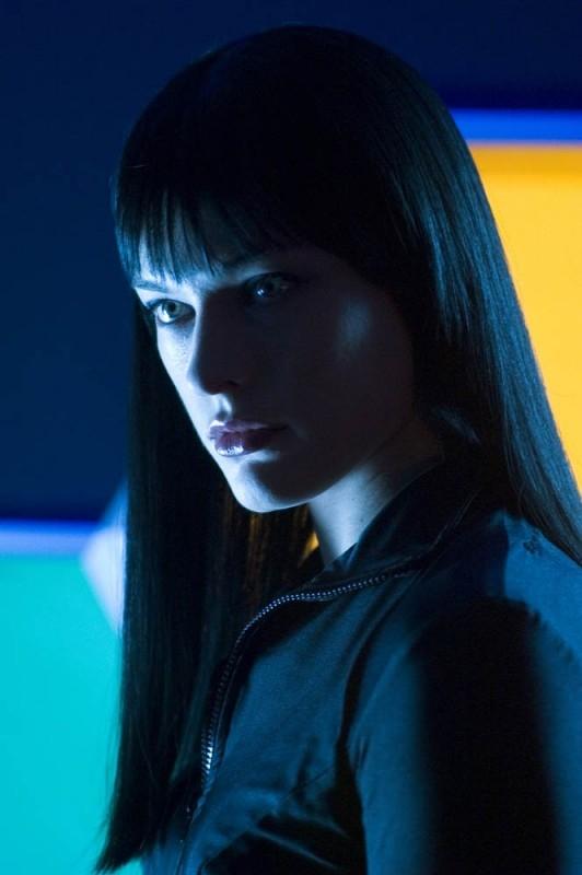 Una bella immagine di Milla Jovovich in una scena di Ultraviolet