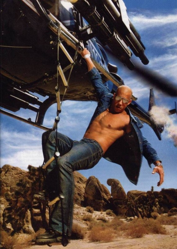 Vin Diesel, muscoli e azione