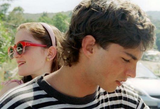 Gabriella Belisario e Jacopo Petrini nel film L'estate del mio primo bacio