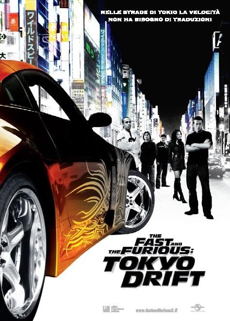 Il manifesto italiano di The Fast and the Furious 3