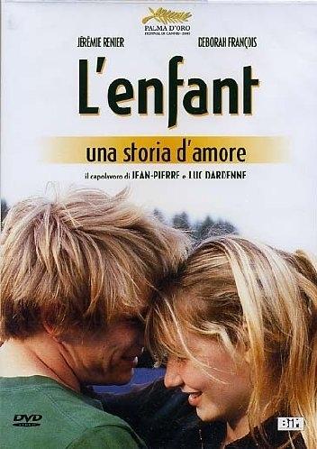 La copertina DVD di L' Enfant - Una Storia D'Amore