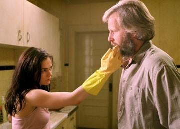 Anna Paquin e Jeff Daniels in Il calamaro e la balena