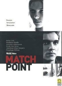 La copertina DVD di Match Point