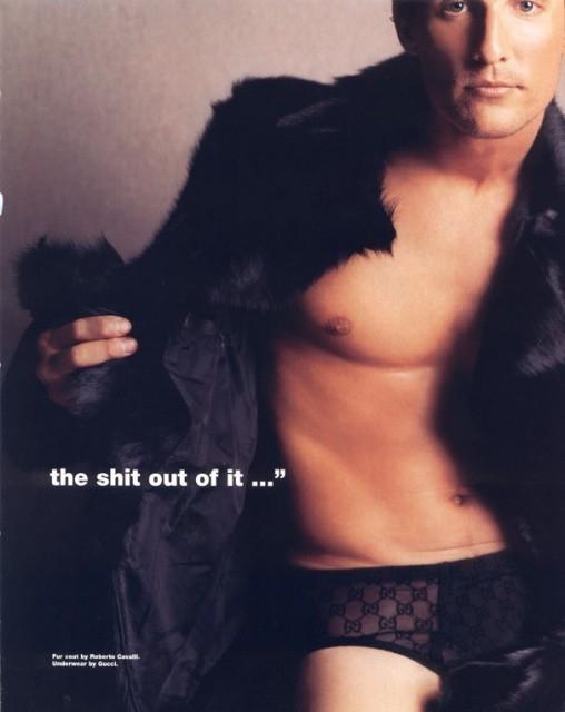 Una sexy immagine di Matthew McConaughey