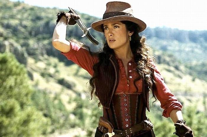 Penelope Cruz in una scena di Bandidas
