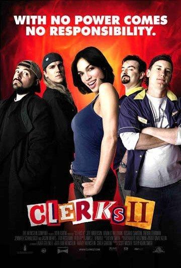 Il poster originale di Clerks II