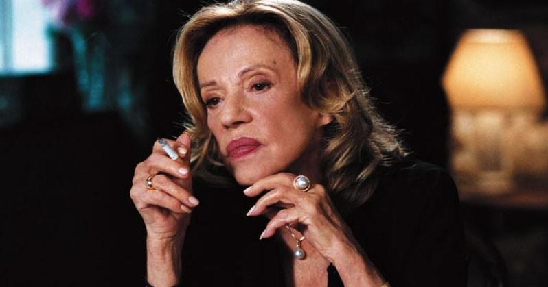 Jeanne Moreau in una scena del film Il tempo che resta