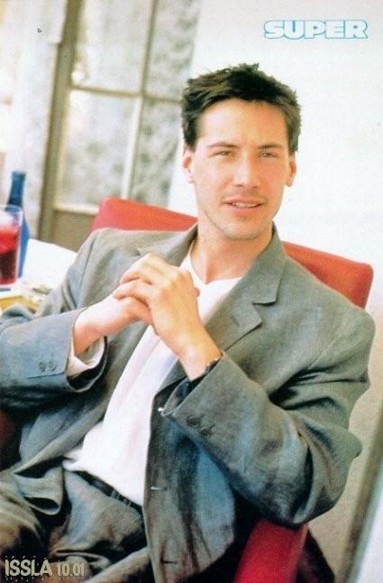 Keanu Reeves agli inizi della carriera cinematografica