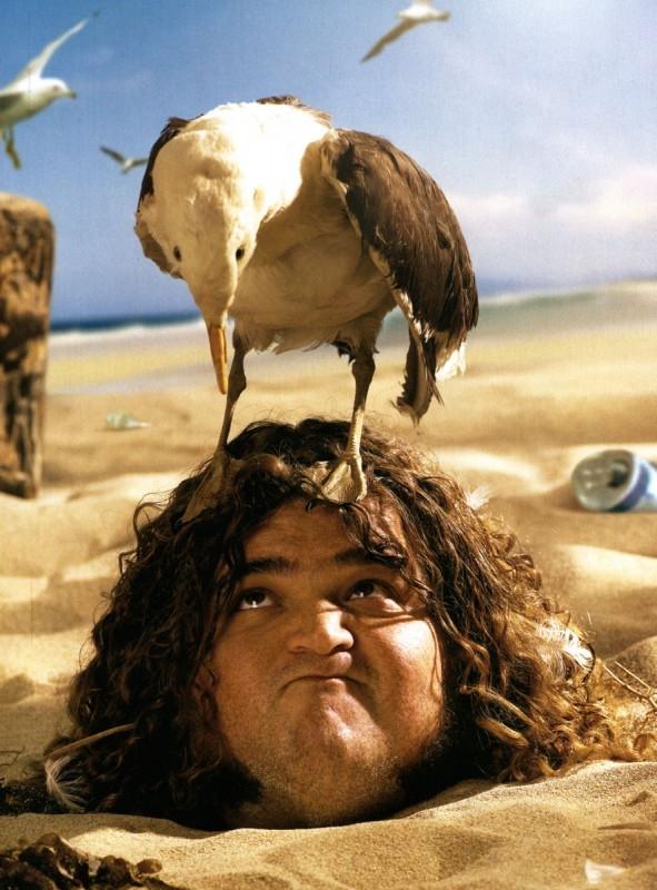 Jorge Garcia in un simpatico scatto per il magazine Maxim