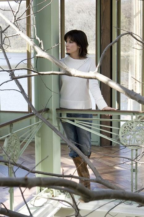Sandra Bullock in una scena de  La casa sul lago del tempo