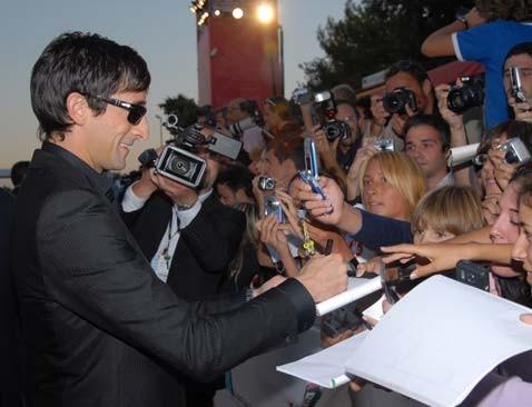 Adrien Brody a Venezia 2006 per presentare Hollywoodland