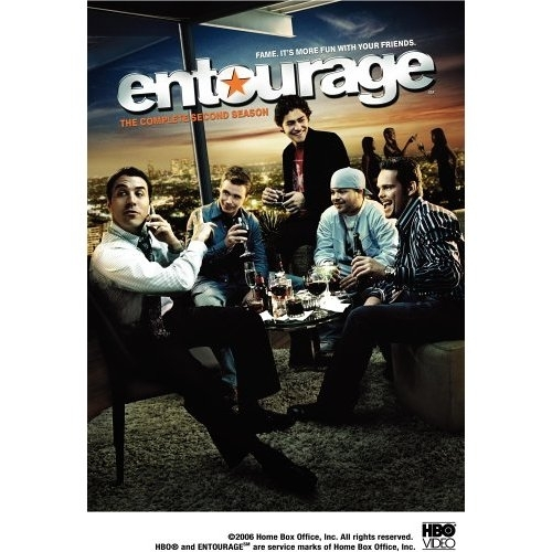 La copertina DVD di Entourage - The Complete Second Season