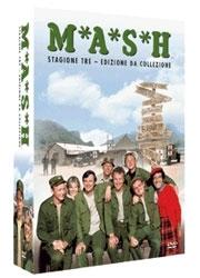 La copertina DVD di M.A.S.H - Stagione 3