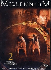 La copertina DVD di Millennium - Stagione 2