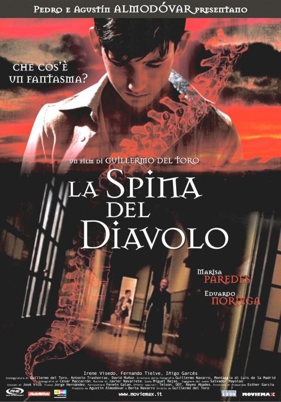 La locandina italiana di La spina del diavolo
