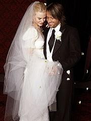 Nicole Kidman e Keith Urban il giorno del loro matrimonio