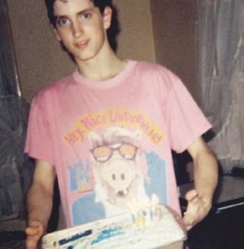 Un giovanissimo Eminem
