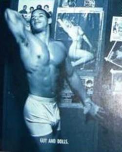 Vin Diesel in versione 'pin-up'
