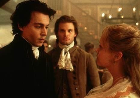 Casper Van Dien, Christina Ricci e Johnny Depp ne Il mistero di Sleepy Hollow