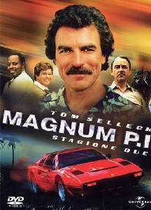 La copertina DVD di Magnum P.I. - Stagione 2