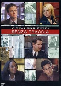La copertina DVD di Senza traccia - Stagione 1