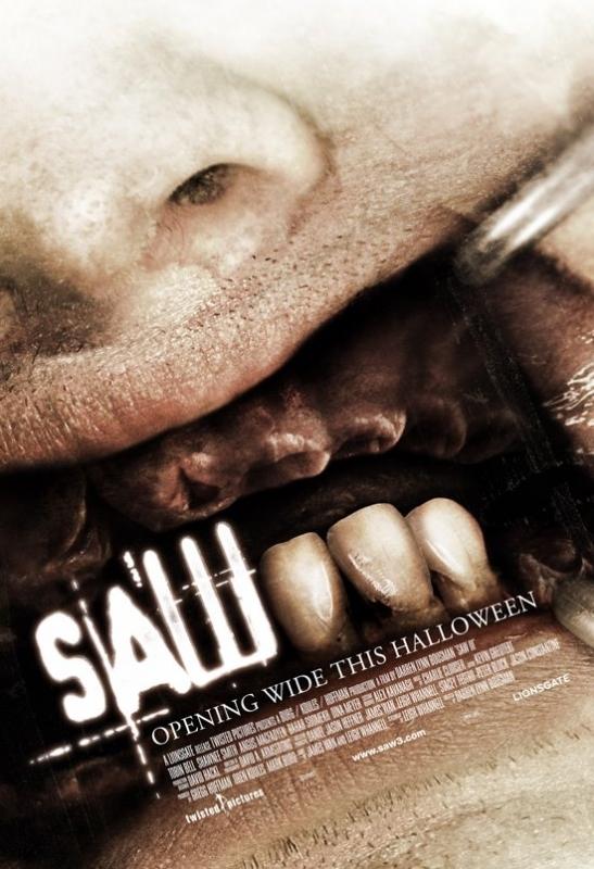 La locandina di Saw 3