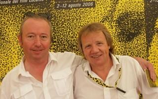 Locarno 2006 -  Werner Schweizer e Raimond Goebel, produttori del film FELTRINELLI
