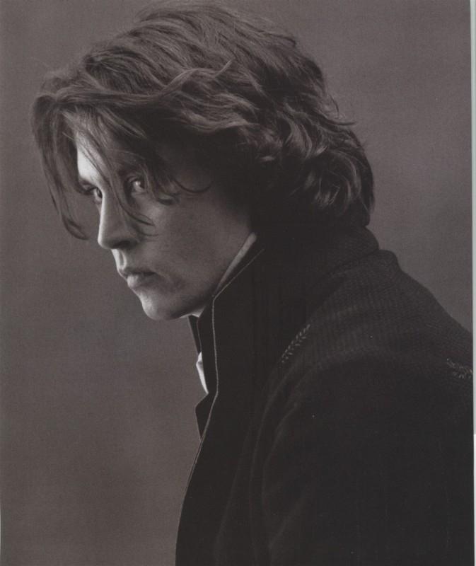 Johnny Depp in una foto promozionale per Il mistero di Sleepy Hollow