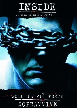 La copertina DVD di Inside