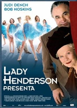 La copertina DVD di Lady Henderson presenta