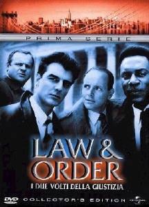 La copertina DVD di Law & Order - I due volti della giustizia - Stagione 1