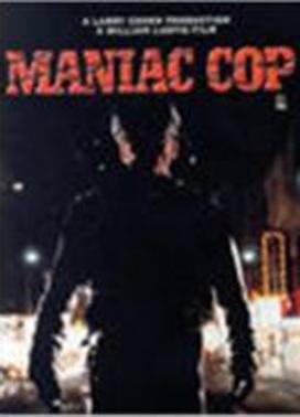La copertina DVD di Maniac Cop