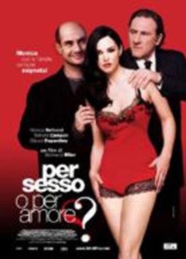 La copertina DVD di Per sesso o per amore?